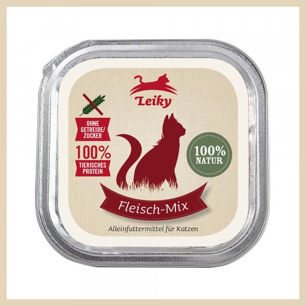 Katzen-Nassfutter Fleisch-Mix