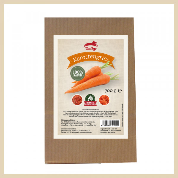 Karottengries 700g