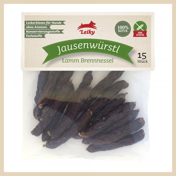 Jausenwürstl Lamm Brennnessel, 15 Stück