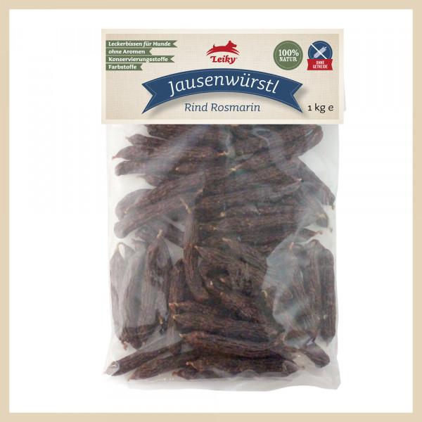 Jausenwürstl Rind Rosmarin, 1kg