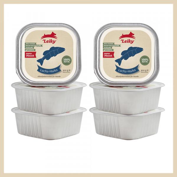Nassfutter Lieblingspaket 6x Lachs-Huhn